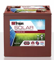Trojan Solar SAGM 06 220 Deep-Cycle Solar AGM