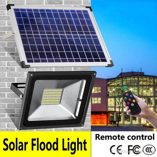 10 Watts Outdoor LED Solar flood light