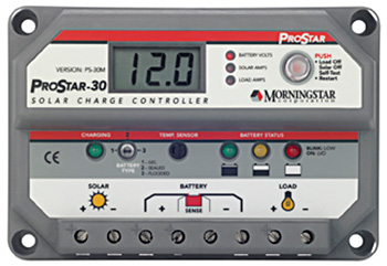 Morningstar PS-30M Charge Controller 30A 12/24V