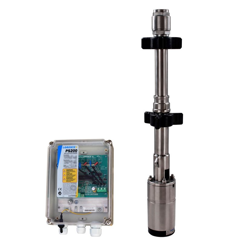 LORENTZ PS200 HR-07-3 Submersible Pump System for 4