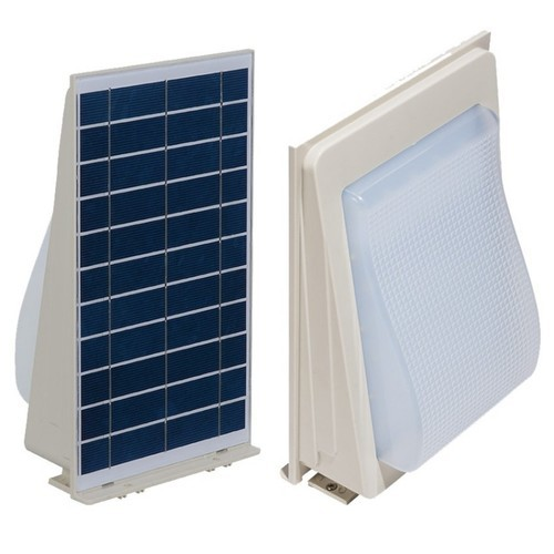 5W Solar LED Wall Light With A Wall Extension Bracket