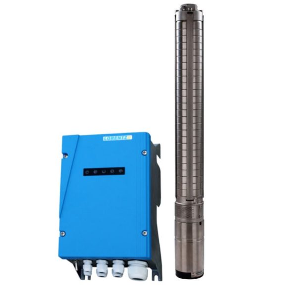 LORENTZ PS1800 C-SJ1-25 Submersible Pump System for 4″ wells