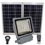 100 watt LED Solar floodlight (200 LED's)