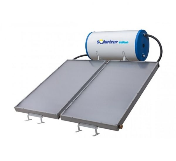 solarizer flat plate 300 Liters solar water heater system